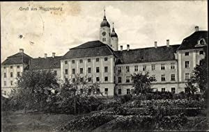 Ansichtskarte / Postkarte Roggenburg in Schwaben, Gruß