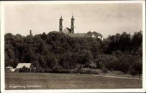 Ansichtskarte / Postkarte Roggenburg in Schwaben, Panoramaansicht