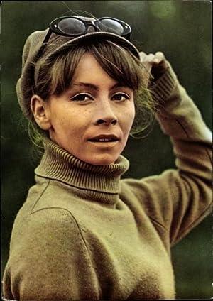 Ansichtskarte / Postkarte Schauspielerin Jutta Hoffmann, Portrait,