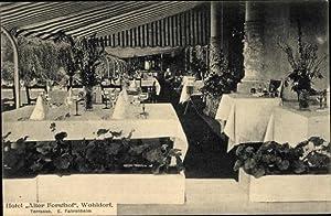 Ansichtskarte / Postkarte Hamburg Wandsbek Wohldorf Ohlstedt,