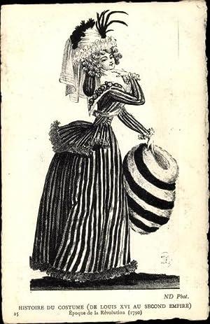Künstler Ansichtskarte / Postkarte Histoire du Costume