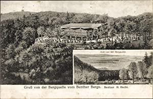 Ansichtskarte / Postkarte Benthe Ronnenberg Niedersachsen, Bergquelle,
