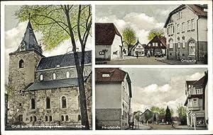 Ansichtskarte / Postkarte Ronnenberg Niedersachsen, Kirche, Ortspartie,