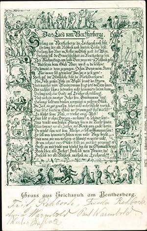 Lied Ansichtskarte / Postkarte Benthe Ronnenberg Niedersachsen,