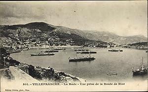 Ansichtskarte / Postkarte Villefranche sur Mer Alpes