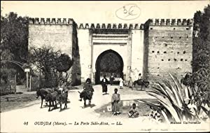 Ansichtskarte / Postkarte Oudjda Oujda Marokko, La