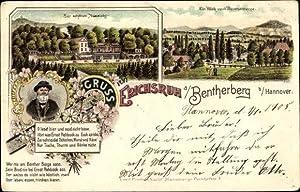 Litho Benthe Ronnenberg Niedersachsen, Zur schönen Aussicht,