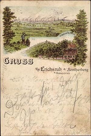 Litho Benthe Ronnenberg Niedersachsen, Erichsruh am Bentherberg
