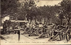Ansichtskarte / Postkarte Toulon Var, Arsenal de