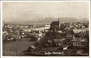 Foto Ansichtskarte / Postkarte Laufen Salzach im