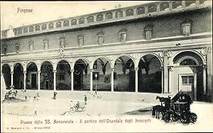 Ansichtskarte / Postkarte Firenze Florenz Toscana, Piazza