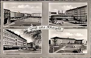Ansichtskarte / Postkarte Rheydt Mönchengladbach Niederrhein, Markt,