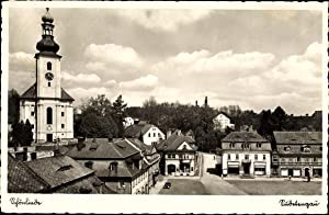 Ansichtskarte / Postkarte Krásná Lípa Schönlinde Reg.
