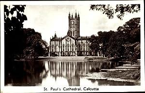 Ansichtskarte / Postkarte Kolkata Kalkutta Indien, St.