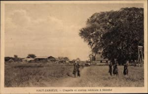 Ansichtskarte / Postkarte Séshéké Haut Zambèze Sambia,