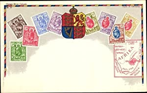 Briefmarken Litho Orange River Colony, Wappen