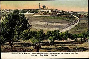 Ansichtskarte / Postkarte Jerusalem Israel Vue du