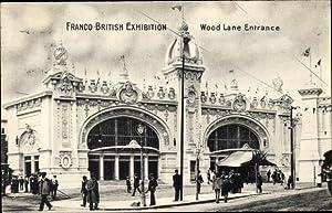 Ansichtskarte / Postkarte London, Franco British Exhibition,