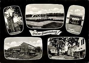 Ansichtskarte / Postkarte Gnarrenburg in Niedersachsen, Badeanstalt,