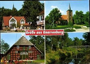 Ansichtskarte / Postkarte Gnarrenburg in Niedersachsen, Kirche,