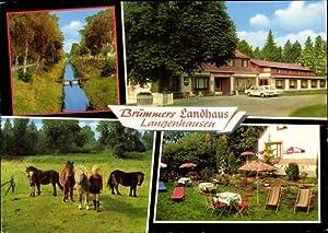 Ansichtskarte / Postkarte Langenhausen Gnarrenburg in Niedersachsen,