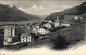 Ansichtskarte / Postkarte Samaden Kanton Graubünden, Panorama