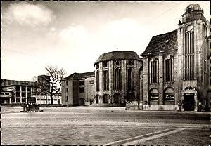 Ansichtskarte / Postkarte Bremerhaven, Theaterplatz, Kleines Haus,