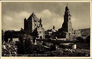 Ansichtskarte / Postkarte Jerusalem Israel, Dormition of