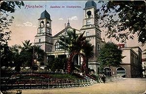 Ansichtskarte / Postkarte Pforzheim im Schwarzwald, Partie