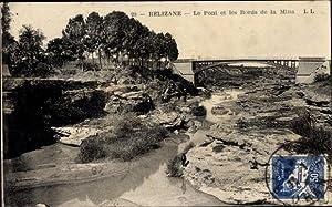 Ansichtskarte / Postkarte Relizane Algerien, Le Pont