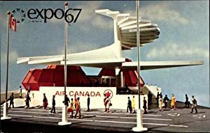 Ansichtskarte / Postkarte Québec Kanada, Expo 67,
