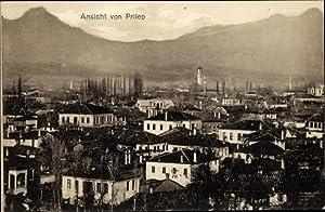 Ansichtskarte / Postkarte Prilep Mazedonien, Totalansicht vom