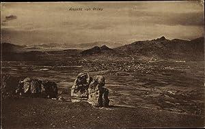 Ansichtskarte / Postkarte Prilep Mazedonien, Panorama vom