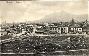 Ansichtskarte / Postkarte Prilep Mazedonien, Totalansicht von