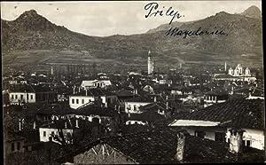 Foto Ansichtskarte / Postkarte Prilep Mazedonien, Totalansicht