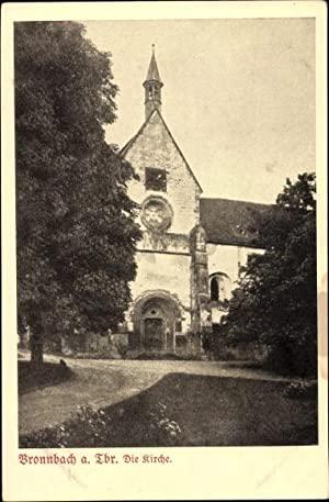 Ansichtskarte / Postkarte Bronnbach Reicholzheim Wertheim in