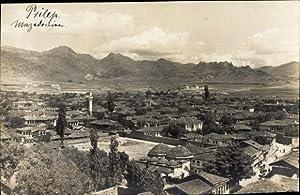 Foto Ansichtskarte / Postkarte Prilep Mazedonien, Panoramablick