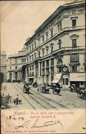 Ansichtskarte / Postkarte Napoli Neapel Campania, Via