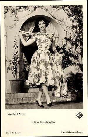 Ansichtskarte / Postkarte Schauspielerin Gina Lollobrigida, Portrait,