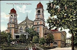 Ansichtskarte / Postkarte Pforzheim im Schwarzwald, Saalbau,