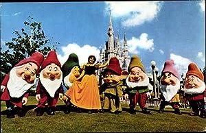 Ansichtskarte / Postkarte Orlando Florida USA, Disney