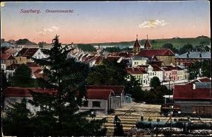 Ansichtskarte / Postkarte Sarrebourg Saarburg Moselle, Gesamtansicht der Stadt