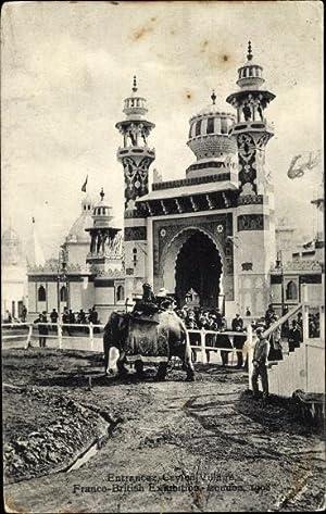 Ansichtskarte / Postkarte White City London, Franco