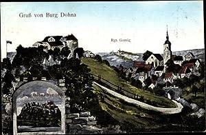 Ansichtskarte / Postkarte Dohna Sachsen, Burg, Rgt.