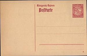 Ansichtskarten Nürnberg Bayern Landesausstellung 1896 Stempel Postkarten Ganzsache Bayern 5 Pf. Diverse Philatelie