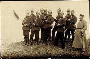 Foto Ansichtskarte / Postkarte Deutsche Soldaten in