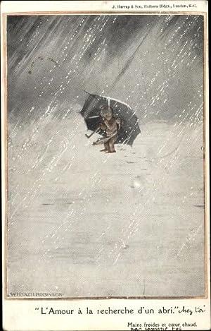 Von Herzen Postkarte Henri Banks