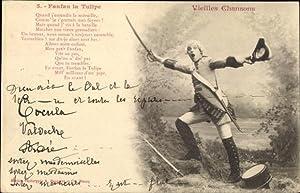 Lied Ansichtskarte / Postkarte Fanfan la Tulipe,