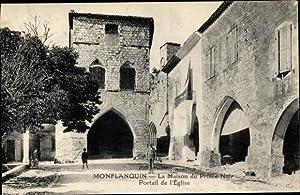 Ansichtskarte / Postkarte Monflanquin Lot et Garonne,