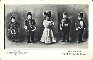Ansichtskarte / Postkarte Paris, Royaume de Lilliput, The tuckish Tom Thumb